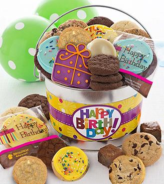 Happy Birthday Treats Pail