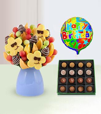 Sizzling Sweet Treats Birthday, Royal Heritage Truffles Box & Birthday Balloon