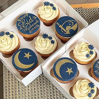 Blessings Of Eid Cupcakes