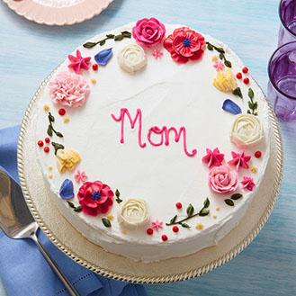 Circle of Love Mom Cake