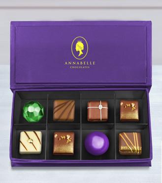 Belgian Retreat Chocolate Box by Annabelle Chocolates