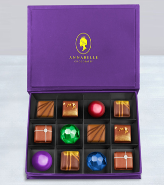 Heart of Cocoa Chocolate Box by Annabelle Chocolates