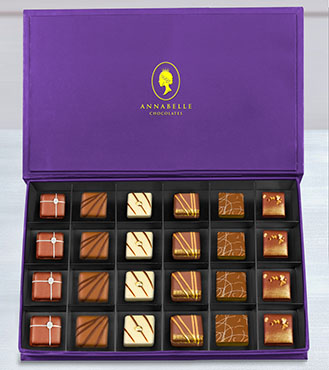 The Connoisseurs Chocolate Box by Annabelle Chocolates
