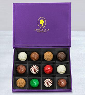 Avant-Garde Truffles Box by Annabelle Chocolates