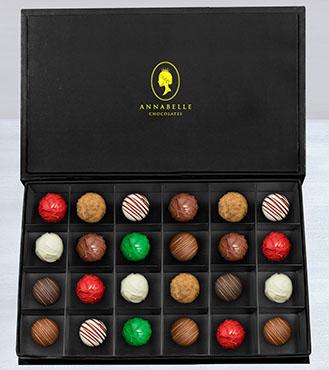 The Duke's Chocolate Truffles Box by Annabelle Chocolates