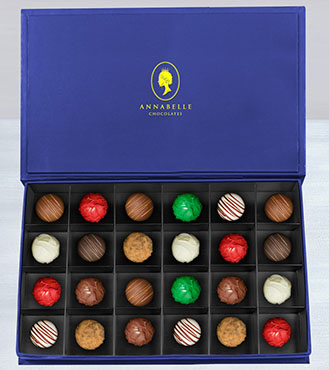 The President's Chocolate Truffles Box by Annabelle Chocolates