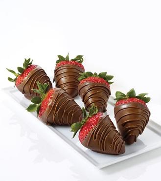 Milk Chocolate Dipped Strawberries