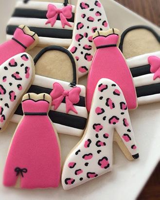 Leapard Print Fashion Cookies