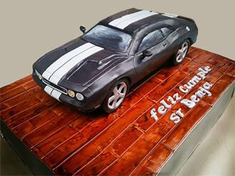 Muscle Car Showroom Cake