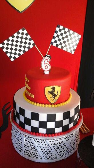 Sensational Checkered Flag Ferrari Birthday Cake Broadwaybakery Com 39522 Funny Birthday Cards Online Ioscodamsfinfo