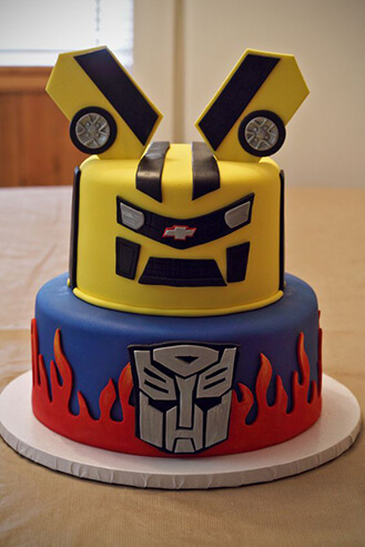 Transformers Tiered Birthday Cake, theflowershop.ae 39525