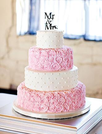 Buttercream Dream Wedding Cake