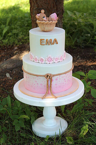 Bundle Of Joy Baby Cake
