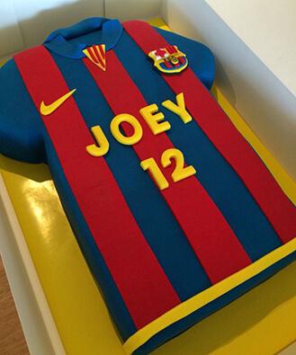 Fc Barcelona Jersey Cake Broadwaybakery Com 39354