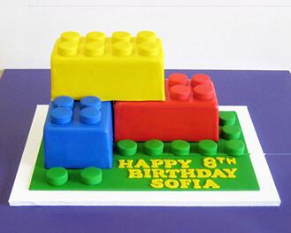 Lego Block Party Birthday Cake Theflowershopae 39993