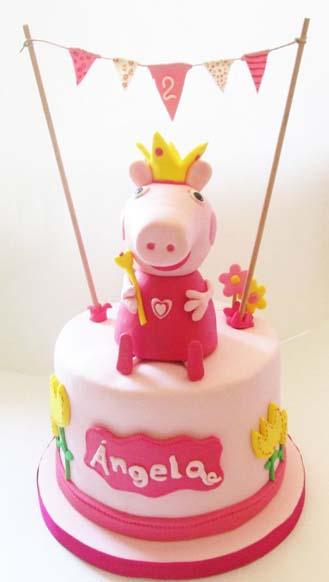 Princess Peppa Pig Birthday Cake 3 Broadwaybakery Com 39538