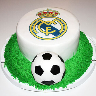 Real Madrid Football Cake 5