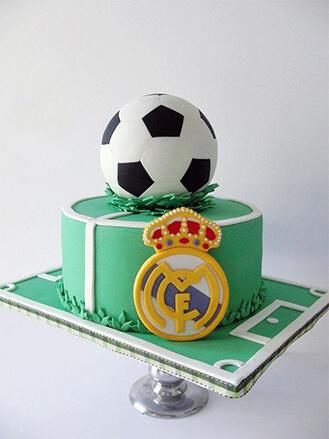 Real Madrid Football Cake 7