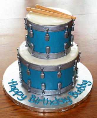 Drum Set Cake 2 Broadwaybakery 40529