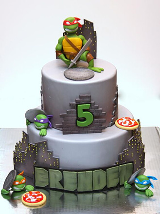 From The Shadows Ninja Turtle Cake, theflowershop ae 40935