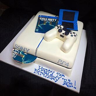 Playstation 4 Cake Broadwaybakery 40952