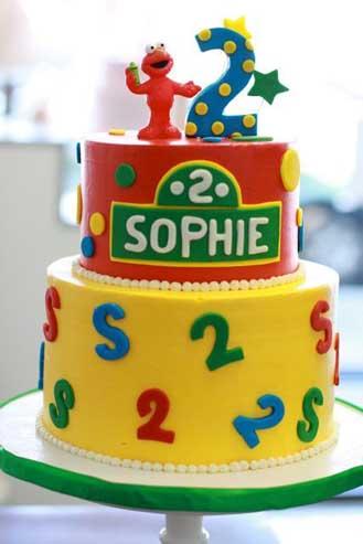 Elmo Tiered Cake 3 Theflowershopae 40676