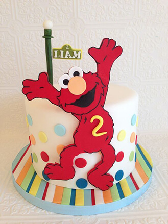 Elmo Birthday Cake 2 Broadwaybakery Com 40680