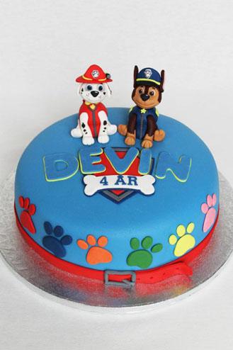 Chase Marshall Paw Patrol Cake 1 Broadwaybakery 40589