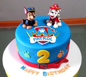 Chase Marshall Paw Patrol Cake 2 Theflowershopae 40601