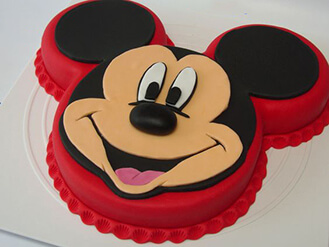 Mickey Mouse Shaped Cake Broadwaybakerycom 40472