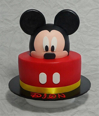 Mickey Mouse 3D Cake 2, theflowershop ae 40473
