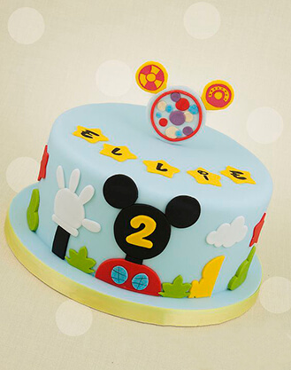 Wondrous Mickey Mouse Clubhouse Cake 2 Broadwaybakery Com 40477 Funny Birthday Cards Online Overcheapnameinfo
