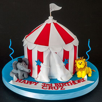 Product Code 41154 : carnival tent cake - afamca.org