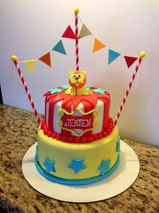 Sensational Lion Tamers Circus Birthday Cake Chocolatefactory Ae 41872 Funny Birthday Cards Online Elaedamsfinfo