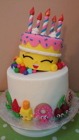 Birthday Wishes Shopkins Cake, theflowershop.ae 41789