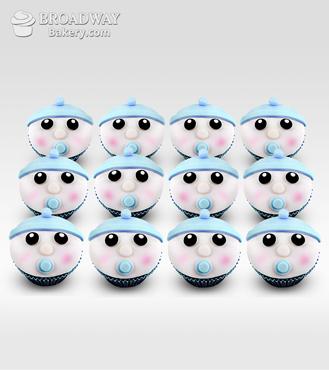 It's A Boy! Celebration Cupcakes - Dozen