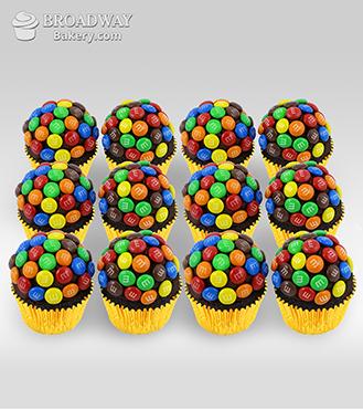 M&M Funfetti - 12 Cupcakes