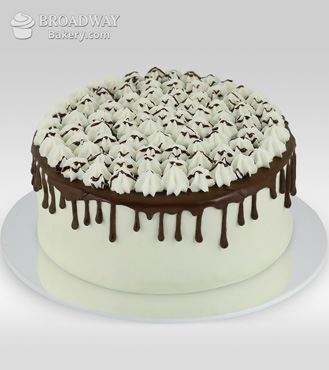 Chocolate Lovers Custard Cake - 1Kg
