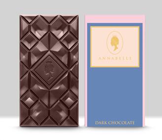 Large Dark Chocolate Bar By Annabelle