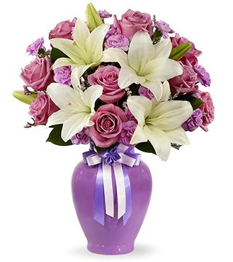 Lavender Mixed Flower Bouquet