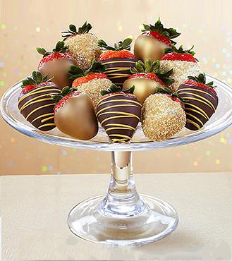 All That Sparkles - Dozen Dipped Strawberries