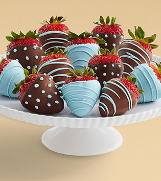 True Blue - Dozen Dipped Strawberries