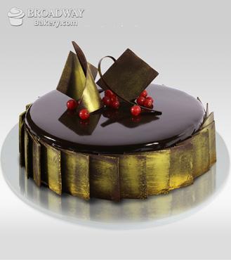 Extremely Chocolaty Mirror Cake