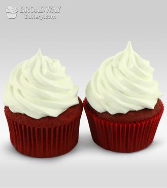 Red Velvet Addiction - 2 Cupcakes