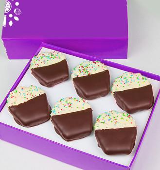 Confetti Cupcake Pineapple Box