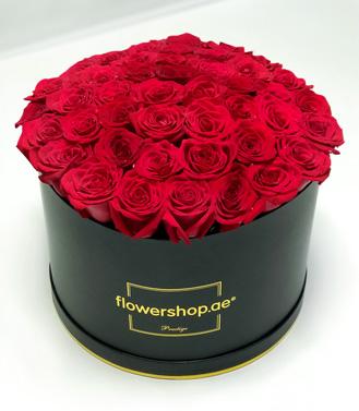 Prestige 50 Rose Black Hatbox