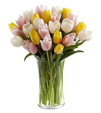 Sunset Escape Tulip Bouquet