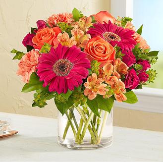 Sunset Passion Bouquet
