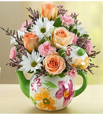 Teapot Full of Blooms