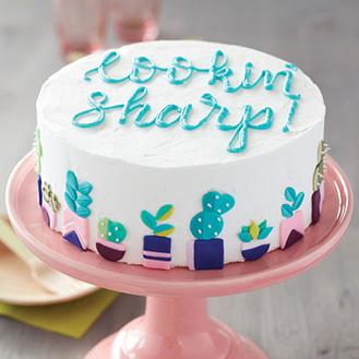 Lookin Sharp Cactus Cake